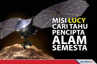 NASA Resmi Luncurkan Lucy untuk Cari Tahu Pencipta Alam Semesta