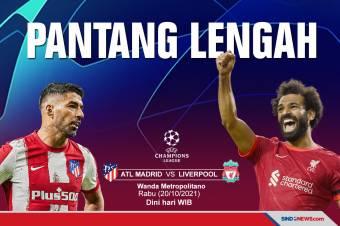 Preview Atletico Madrid vs Liverpool: Tuan Rumah Pantang Lengah