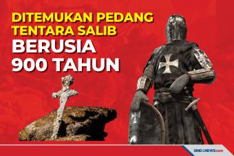 Ditemukan Pedang Milik Tentara Salib Berusia 900 Tahun