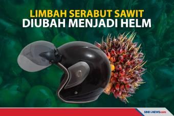 Inovasi Helm dari Limbah Serabut Sawit, Ini Keunggulannya