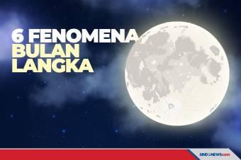 6 Fenomena Bulan Langka yang Menarik untuk Diamati dan Dinikmati