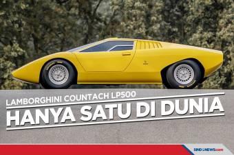 Countach LP500, Satu-satunya yang Dibuat Lamborghini di Dunia