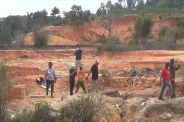 Tambang Pasir Ilegal di Batam Digerebek Polisi, 7 Pelaku Jadi Tersangka