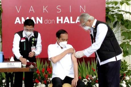Presiden Jokowi Dijadwalkan Terima Vaksinasi Kedua Besok Pagi