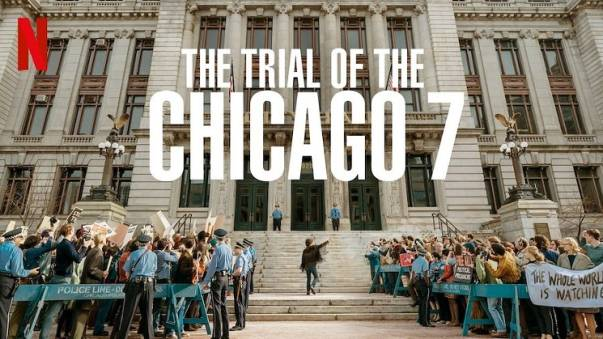 5 Alasan Kamu Harus Nonton Film Demonstrasi The Trial of The Chicago 7