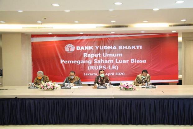 Gelar RUPS-LB, Bank Yudha Bhakti Usulkan Dua Anggota Direksi Baru