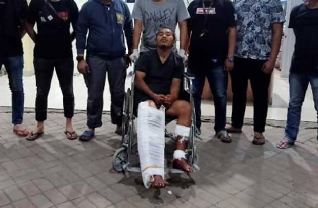 Lawan Polisi, 4 Peluru Bersarang di Kaki Pembobol SD Tamamaung Makassar