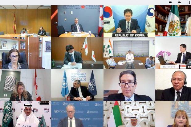 Forum G20 Ri Dorong Standar Baru Sikapi New Normal Sektor
