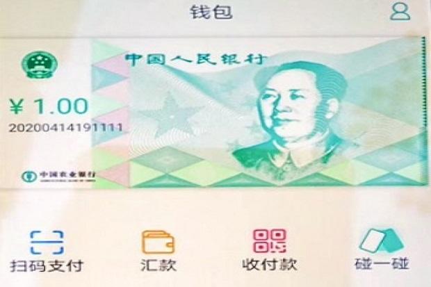 China Uji Coba Mata Uang Digital di Bulan Ini