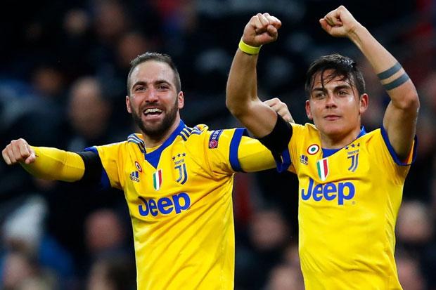 Juventus Ingin Pertahankan Dybala dan Higuain Musim Depan