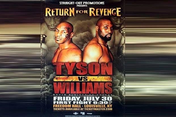 Danny Williams, Musuh Lama Ini Akan Kembali Hadapi Mike Tyson