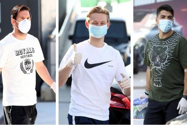 Bebas Virus Corona, Skuad Barcelona Gelar Latihan Lagi