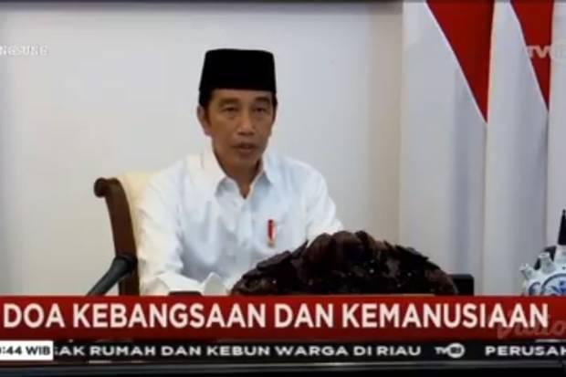Jokowi: Kepanikan adalah Separuh Penyakit, Ketenangan adalah Separuh Obat