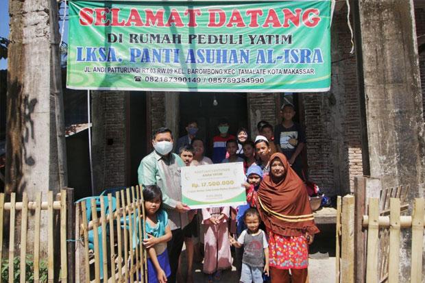 Pertamina Berikan Santunan Bagi 300 Anak Panti Asuhan di Sulawesi