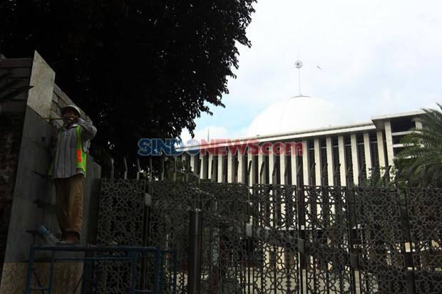 Renovasi Masjid Istiqlal Ditargetkan Rampung Akhir Juni 2020