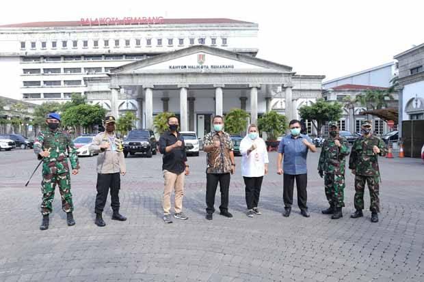 Tanpa PSBB, Kota Semarang Berhasil Landaikan Grafik COVID-19