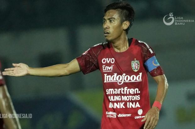 Usai Merumput, Kapten Bali United Ingin Bertugas di Sisi Lapangan