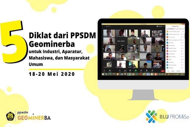 PPSDM Geominerba Gelar Diklat untuk Industri, Aparatur, Mahasiswa, dan Masyarakat Umum