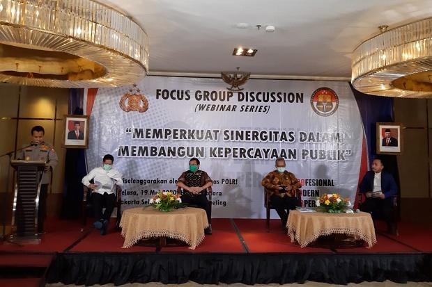 Polri: Perlu Sinergitas Semua Elemen Masyarakat untuk Bangun Kepercayaan Publik