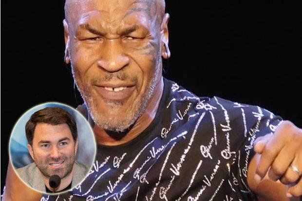Maukah Eddie Hearn Promotori Mike Tyson?: Dia Sudah 53 Tahun