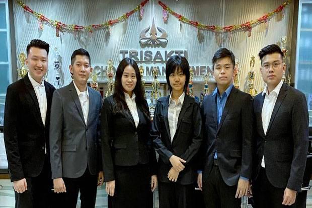 Tim Trisakti School of Management Juara Virtual Business Challenge 2020