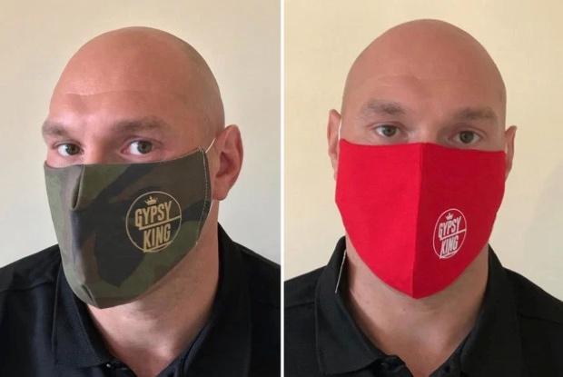 Tyson Fury Jual Masker Khusus Seharga Rp230 Ribu Per Lembar