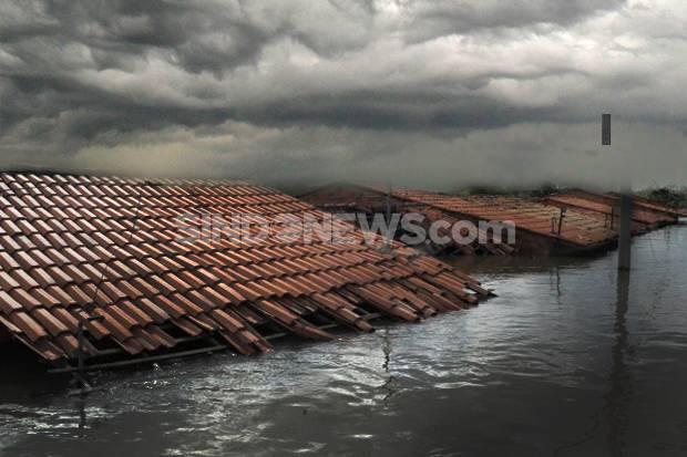 Saat Pandemi Corona, Banjir Terjang Ratusan Rumah di Sejumlah Wilayah