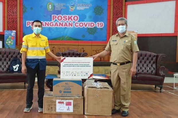 Gabungan BUMN Kalbar Salurkan Rp3,8 Miliar untuk Penanganan Covid-19