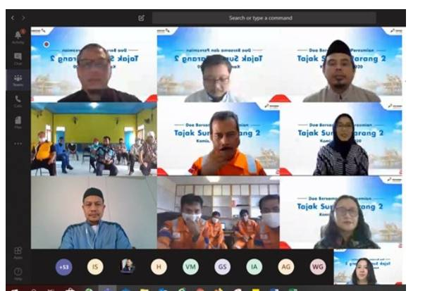 Menjelang Tajak Sumur Parang-2, PHENC Gelar Doa Bersama secara Daring
