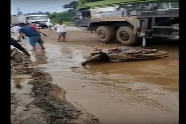 Viral di Media Sosial, TKA China Tewas Terlindas Truk di Konawe