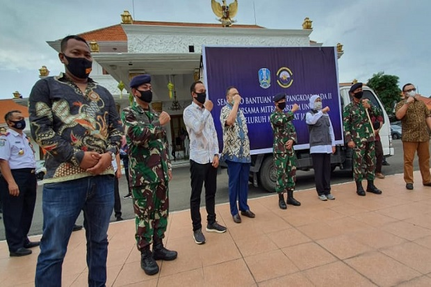 PT Alfath Mulia Jaya Gandeng Ojol Distribusikan Bantuan Pemerintah