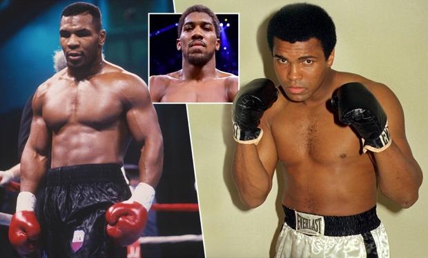 Hanya Ada Dua Petinju Legendaris, Tyson dan Muhammad Ali