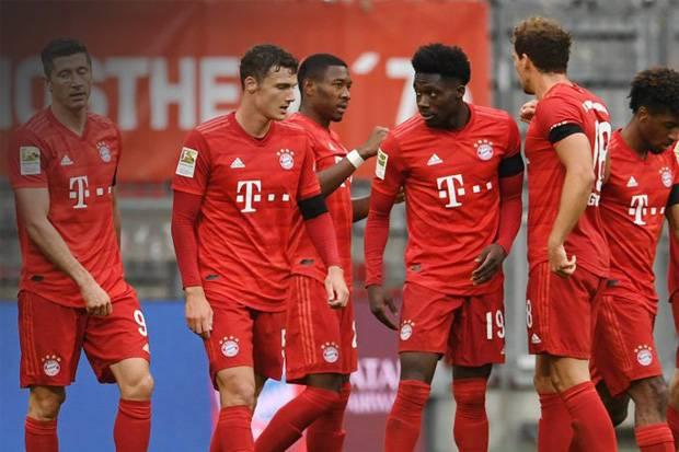 Berkat Lewandowski, Bayern Muenchen Cetak Rekor Baru di Bundesliga