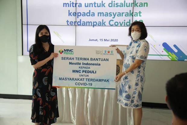 Lewat MNC Peduli, Nestle Indonesia Bantu Masyarakat Terdampak Covid-19