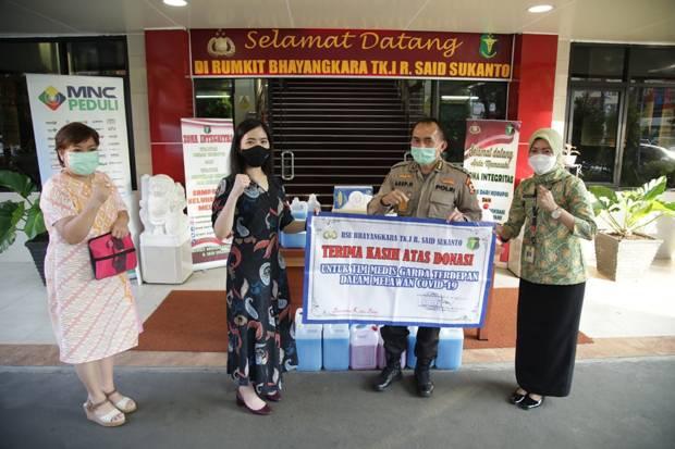 Lawan Covid-19, MNC Peduli Salurkan Bantuan ke RS Bhayangkara Polri