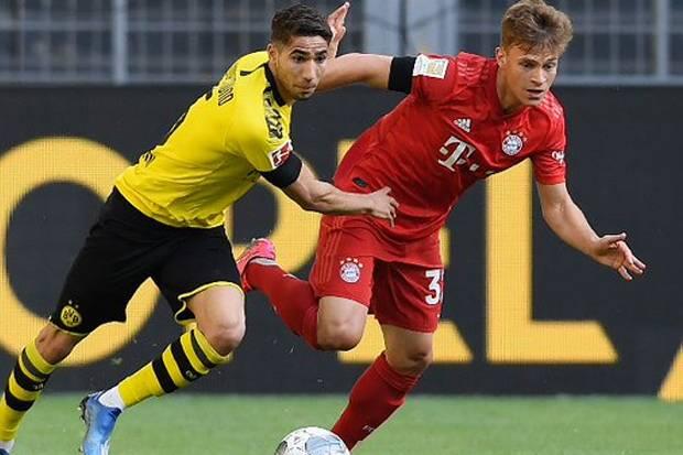Babak Pertama Der Klassiker : Muenchen Ungguli Dortmund