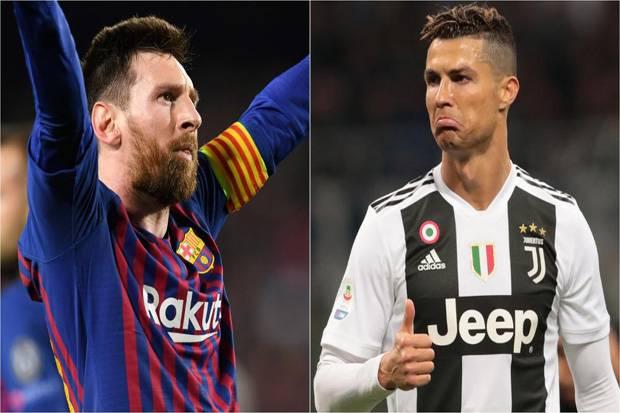 Pernah Main di Barca, Legenda Inggris Pilih Messi Dibanding Ronaldo