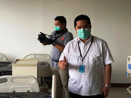 Erick Ungkap Biaya Pengobatan Pasien Covid-19 Capai Ratusan Juta Rupiah