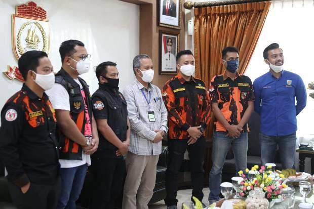 KNPI dan SAPMA PP Bersinergi bersama Pemerintah, Bangun Ekonomi Makassar