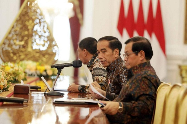 Jokowi: KPK Bisa Dilibatkan dalam Program PEN
