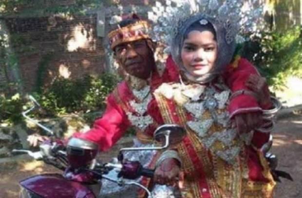 Heboh Duda 60 Tahun Nikahi Gadis 21 Tahun di Pangkep