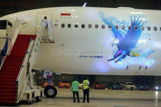 Garuda Indonesia Bukukan Laba Bersih USD6,98 Juta