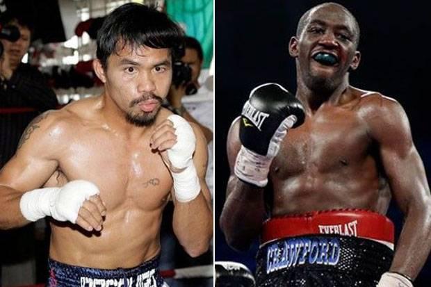 Arum Panggungkan Duel Jawara, Pacquiao vs Crawford di Bahrain