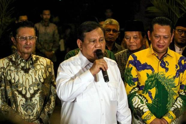 Kembali Daulat Prabowo sebagai Ketum, Gerindra Ingin Merawat Elektoral Menuju 2024