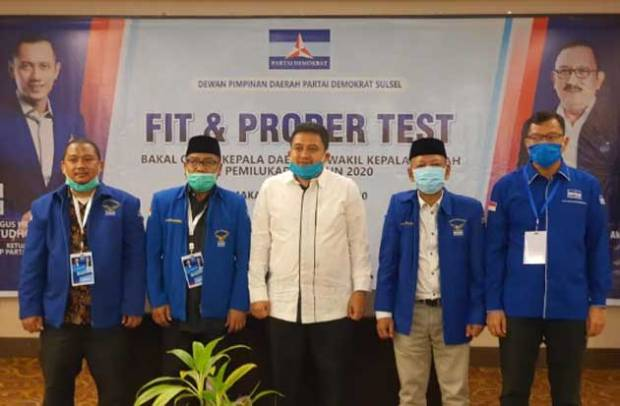 Deng Ical dan Appi Optimistis Diusung Demokrat di Pilwalkot Makassar