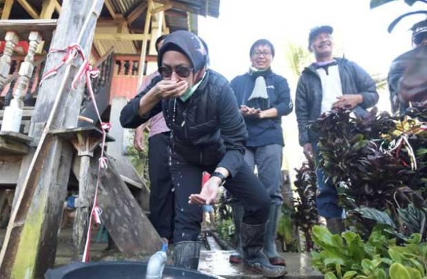 Dua Dusun di Pelosok Luwu Utara Kini Nikmati Air Bersih