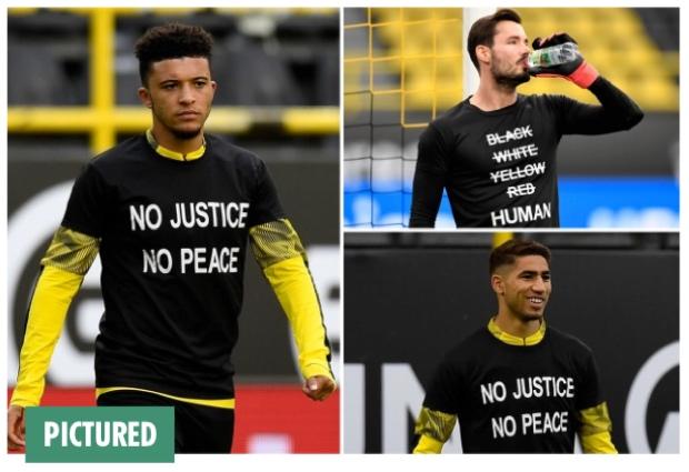 Laga Dortmund vs Hertha Berlin Juga Diwarnai Protes Menolak Rasisme