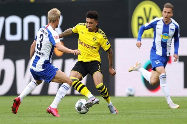 Hasil Lengkap dan Klasemen Sementara Bundesliga, Minggu (7/6/2020)