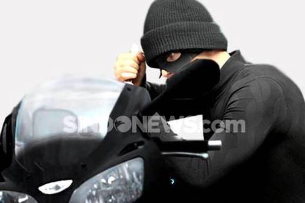 Tangkap Pelaku Curanmor, Polisi Juga Amankan Alat Isap Sabu-sabu