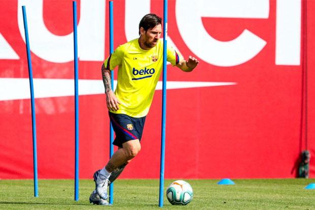 Lionel Messi Siap Tampil Bersama Barcelona Melawan Mallorca